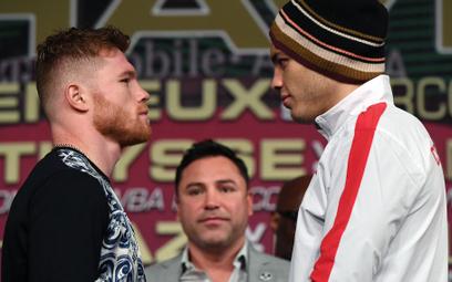 Las Vegas przed walką Saula Alvareza z Julio Cesarem Chavezem Jr.