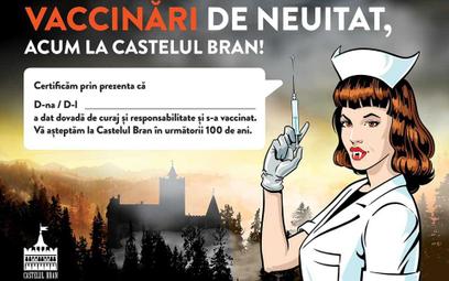 Rumunia: Szczep się na COVID z Drakulą