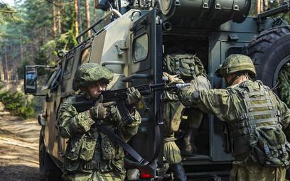 Ćwiczenia Zapad 2021, zdjęcie udostępnione przez rosyjskie Ministerstwo Obrony