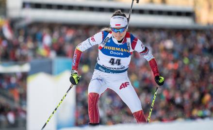 Monika Hojnisz-Staręga to nasz główny biatlonowy atut
