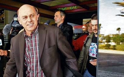 Prezes PZPN Grzegorz Lato przyleciał wczoraj do Portugalii