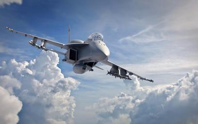 Wizja najnowszej wersji myśliwca Super Hornet Block III. Rys./Boeing.