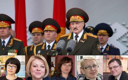 W areszcie znaleźli się (od lewej na dole): Andżelika Borys, szefowa Związku Polaków na Białorusi, A