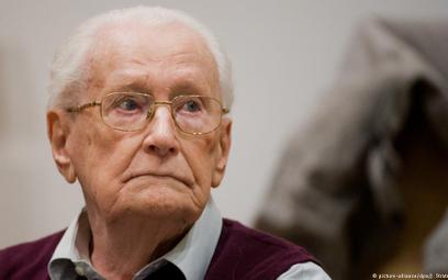 """W wieku 96 lat zmarł """"księgowy z Auschwitz"""""""