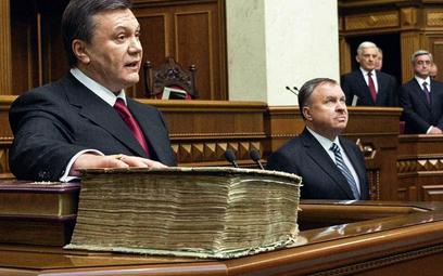 Wiktor Janukowycz złożył przysięgę na Ewangeliarz Peresopnicki, powstały w połowie XVI wieku w klasz
