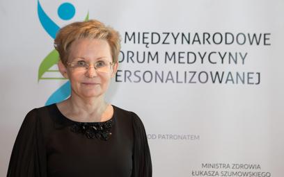 Dr n. med. Beata Jagielska, prezes Polskiej Koalicji Medycyny Personalizowanej