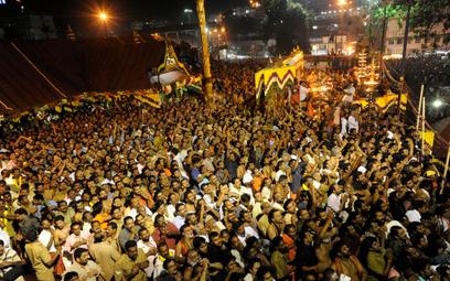 Co roku świątynię Sabarimala odwiedzają dziesiątki milionów pielgrzymów
