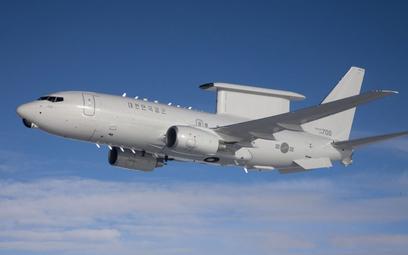 Samolot wczesnego ostrzegania i dowodzenia Boeing 737 AEW&C Sił Powietrznych Republiki Korei. Fot./B