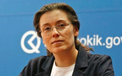 Małgorzata Krasnodębska-Tomkiel, odchodząca prezes UOKiK.