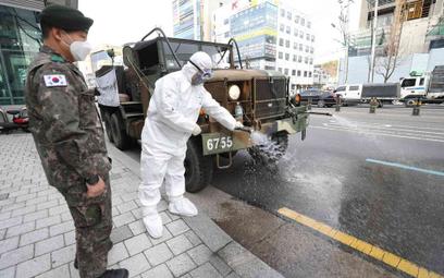 Koronawirus w Korei Płd.: Już niemal 1,6 tys. zachorowań
