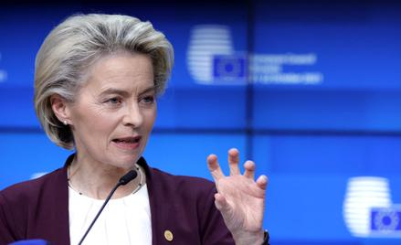 Ursula von der Leyen przewodnicząca Komisji Europejskiej