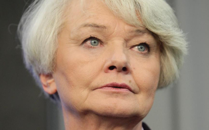 Krystyna Łybacka, była szefowa MEN