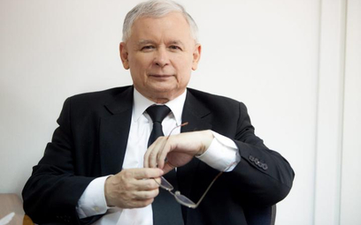 """Kaczyński Człowiekiem Roku 2015 """"Wprost"""""""