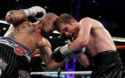 Yuri Foreman i Miguel Angel Cotto podczas walki