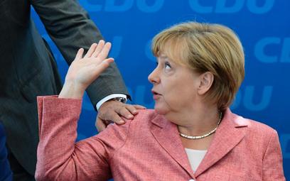 Angela Merkel przeciw federalnej Europie