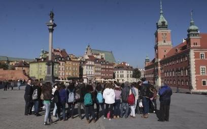 Warszawa w oczach turystów: 8,18 punktu na 10