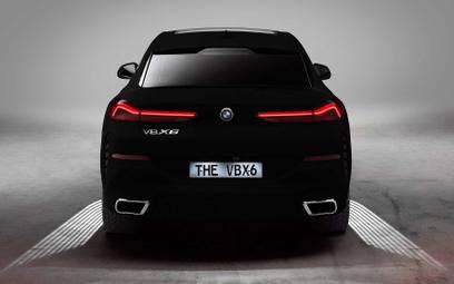 BMW X6 Vantablack: Najczarniejsza czerń na świecie