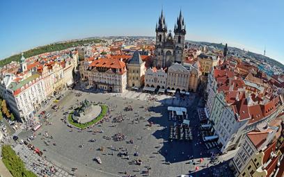 Stary rynek w czeskiej Pradze.
