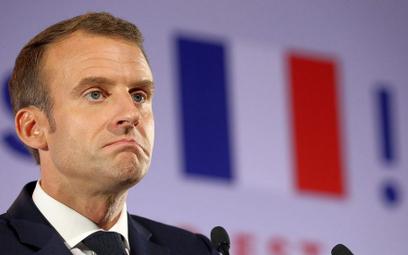 Haszczyński: Pardon, ale Macron nas nie obroni