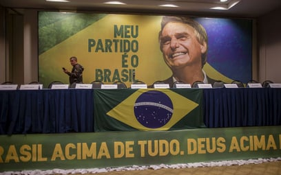 Brazylijski Trump wygrywa I turę wyborów prezydenckich
