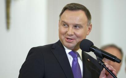 Prezydent Andrzej Duda (na zdjęciu) nadał order Klaudiuszowi Wesołkowi w czerwcu 2020 roku.
