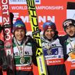 Od lewej: Piotr Żyła, Stefan Hula, Kamil Stoch i Dawid Kubacki. Oni i Maciej Kot to nasze największe