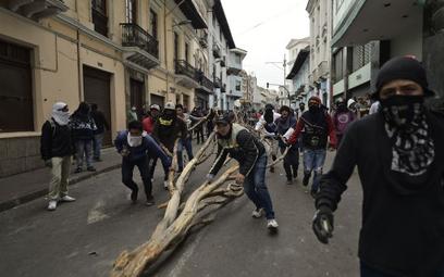Ekwador: Prezydent wprowadza godzinę policyjną