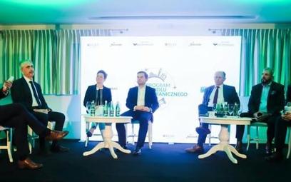 W spotkaniu brał udział m.in. Aldo Amati, ambasador Włoch w Polsce (pierwszy z lewej)