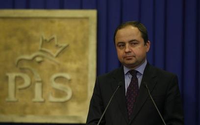 Europoseł PiS Konrad Szymański