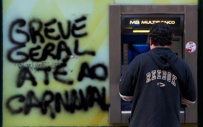 Portugalska gospodarka skurczy się