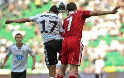 Mecz ekstraklasy Legia - Wisła, wiosna 2011