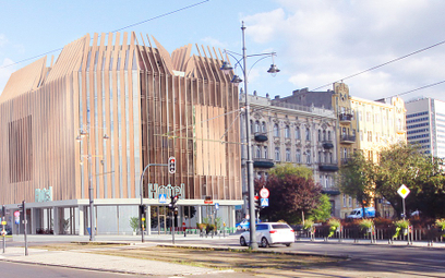 Drewniany hotel w centrum Łodzi. To dzieło polskiego studia