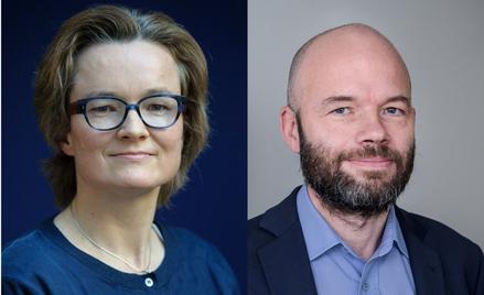 Anna Słojewska i Jędrzej Bielecki