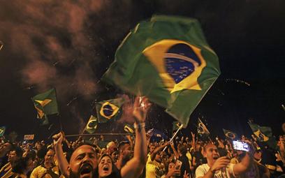 Zwolennicy Bolsonaro świętowali na ulicach brazylijskich miast