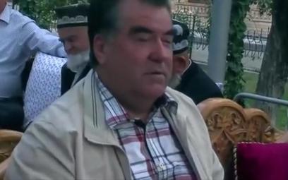 Prezydent Tadżykistanu Emomali Rahmon
