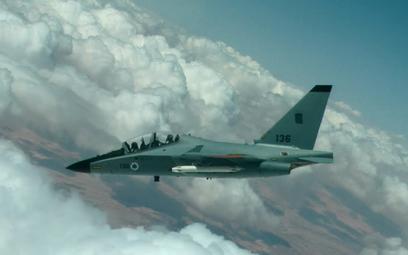 Samolot szkolenia zaawansowanego Leonardo M-346 Lavi izraelskiego lotnictwa. Fot./Siły Powietrzne Iz