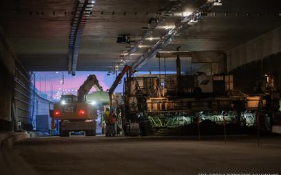 Otwarcie tunelu pod Ursynowem w drugim kwartale 2021 r.