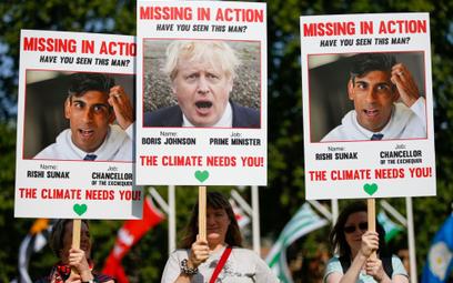 Zaskakujący protest zielonych aktywistów. Chcą przesunięcia COP26