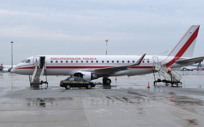 Samolot rządowy Embraer 175 SP-LIH