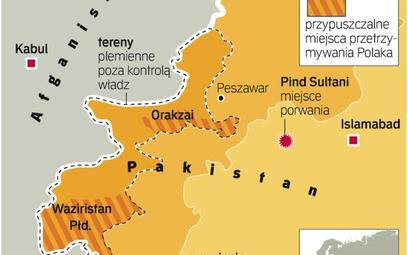 Zakładnik był przetrzymywany na terenach wolnych plemion pasztuńskich, z których wywodzą się talibow