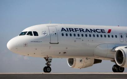 Kraków na mapie połączeń Air France'u