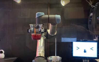 Robot zastąpi barmana. Szybszy i zawsze uprzejmy