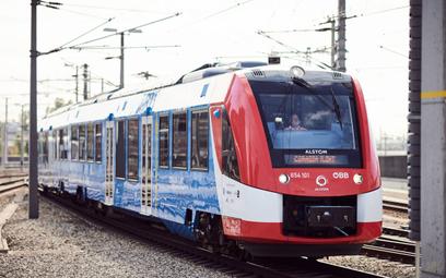 Austriackie Koleje testują pociągi wodorowe