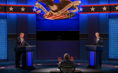 Debata prezydencka w USA: Biden zagrał Trumpem