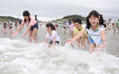 Plaża w prefekturze Fukushima była zamknięta przez osiem lat