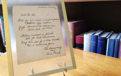 Holandia: Poemat Anny Frank sprzedany za 140 tys. euro
