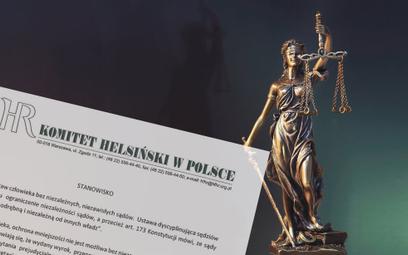 Komitet Helsiński: Nie ma praw człowieka bez niezawisłych sądów