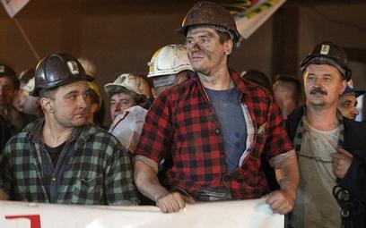 Górnicy i energetycy wyszli na ulice Warszawy