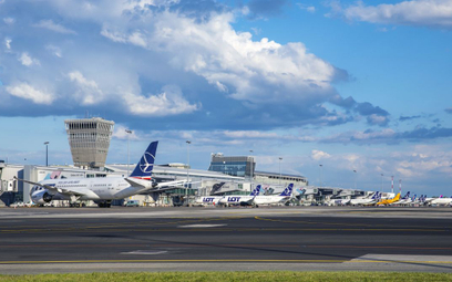 Wrzesień na Lotnisku Chopina gorszy o 74 procent