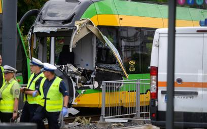 Zderzenie tramwajów w Poznaniu. Są poszkodowani